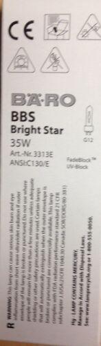 Bäro BBS 35w 3313 U c130//e g12 Bright Star scariche Lampada 3313e UV-block NUOVO