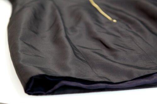 g Taffeta D Black Frill It44 Kalomira Sleeve Dress Uk10 Oversized H7ddCx