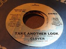 CLOVER-TAKE ANOTHER LOOK PROMO DJ-504  HUEY LEWIS    N.MINT  MG145