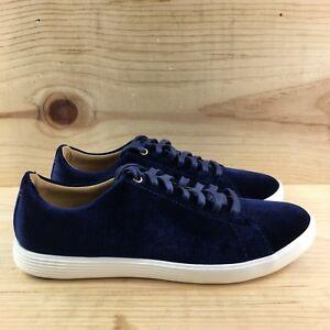 8e3239d1100 Cole Haan Grand Crosscourt II Size 5.5 B Blue Velvet Womens Shoes ...