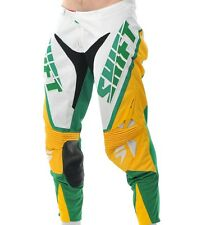 $160 Shift Racing Faction Limited Chad Reed Mxon Pants Green Yellow Size 34