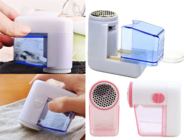 New Portable Electric Fuzz Pill Lint Fabric Remover Sweater Clothes Shaver  GRAU