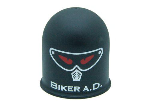 Cappuccio protezione gancio di traino Biker Motocross Quad Evil Biker birichino BIKER NERO
