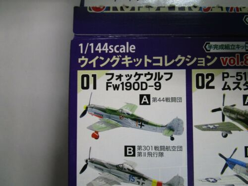 1 F-Toys vol.8 Fw-190-9  aircraft 1-A 1//144 scale W//Free Shipping