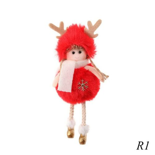 Christmas Angel Doll Toy Hanging Pendant Festival Ornament Xmas Tree Decoration