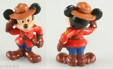 Figurine DISNEY La Maison de Mickey MICKEY Mouse en policier Canadien 6 cm