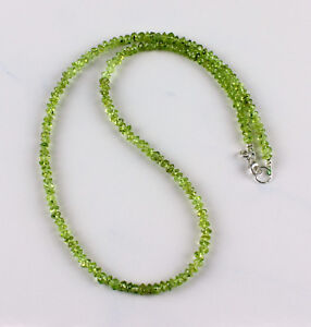 Peridot-Kette-edelsteinkette-Olivin-Gruen-Collier-Halskette-Schmuck-Damen-ca-45cm