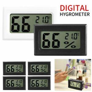 New Mini Digital LCD Temperature Humidity Meter Home Thermometer Hygrometer