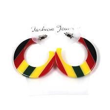 Jamaica Rasta Rastafari Empress Irie Earring One Love Marley Reggae Jamaica NEW