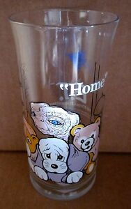 ET vintage Pizza Hut milk glass Extra Terrestrial 1982 Phone Home cup tumbler | eBay