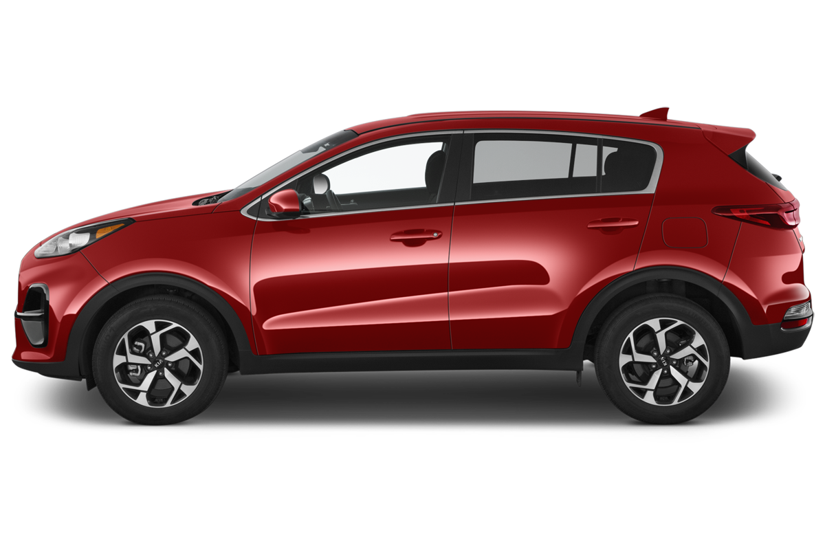 Kia Sportage side view