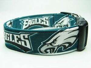 0ea2276918d Image is loading Charming-Philadelphia-Eagles-Handmade-NFL-Football-Dog- Collar