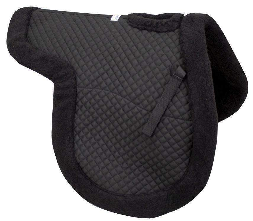 Derby Contour All Purpose Wither Relief Fleece  Edged Horse English Saddle Pad  cheap sale