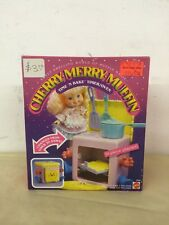 1988 Cherry Merry Muffin TIME N BAKE TIMER OVEN No. 3328 Mattel NOS Unopened