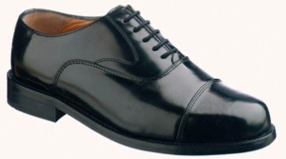 Tuffking 4073 nero da uomo Oxford Abito esecutivo qualità in pelle uniforme shoes