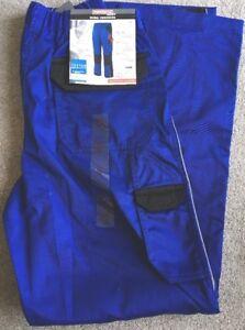 Mens-Powerfix-Work-Zip-Off-Legs-Work-Trousers-Shorts-Blue-Size-32