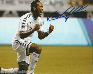 Vancouver-Whitecaps-Kendall-Waston-Autographed-Signed-8x10-Photo-COA-B