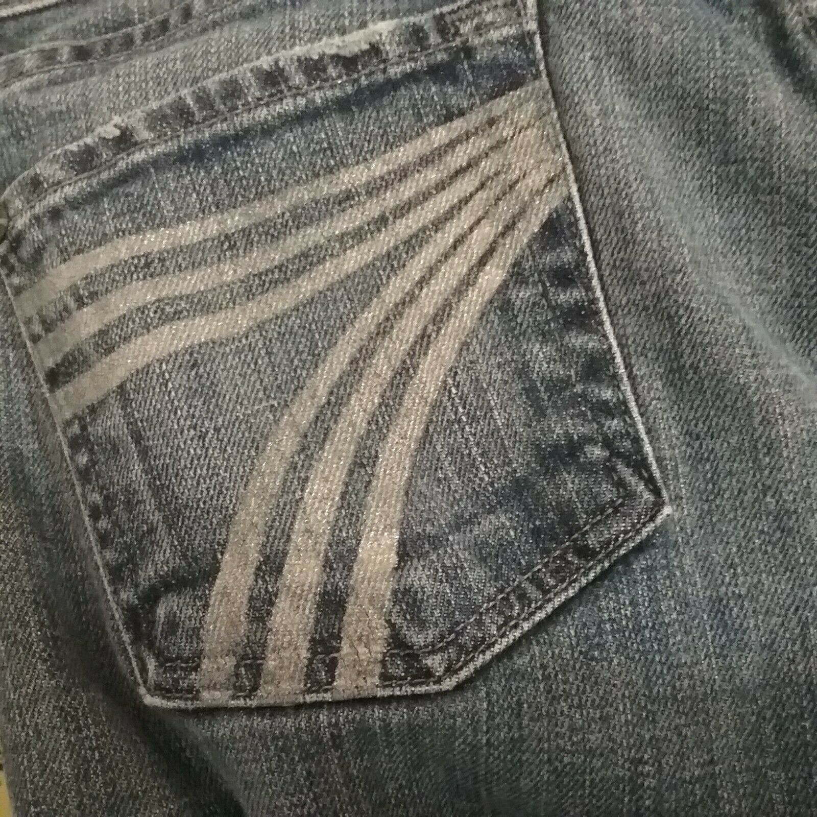 7 For All Mankind DOJO jeans 26 Flare