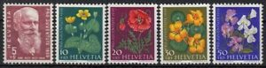 SCHWEIZ-Mi-687-691-postfrisch-PRO-JUVENTUTE-1959-TOP-MW-5-50-JKX-26-1