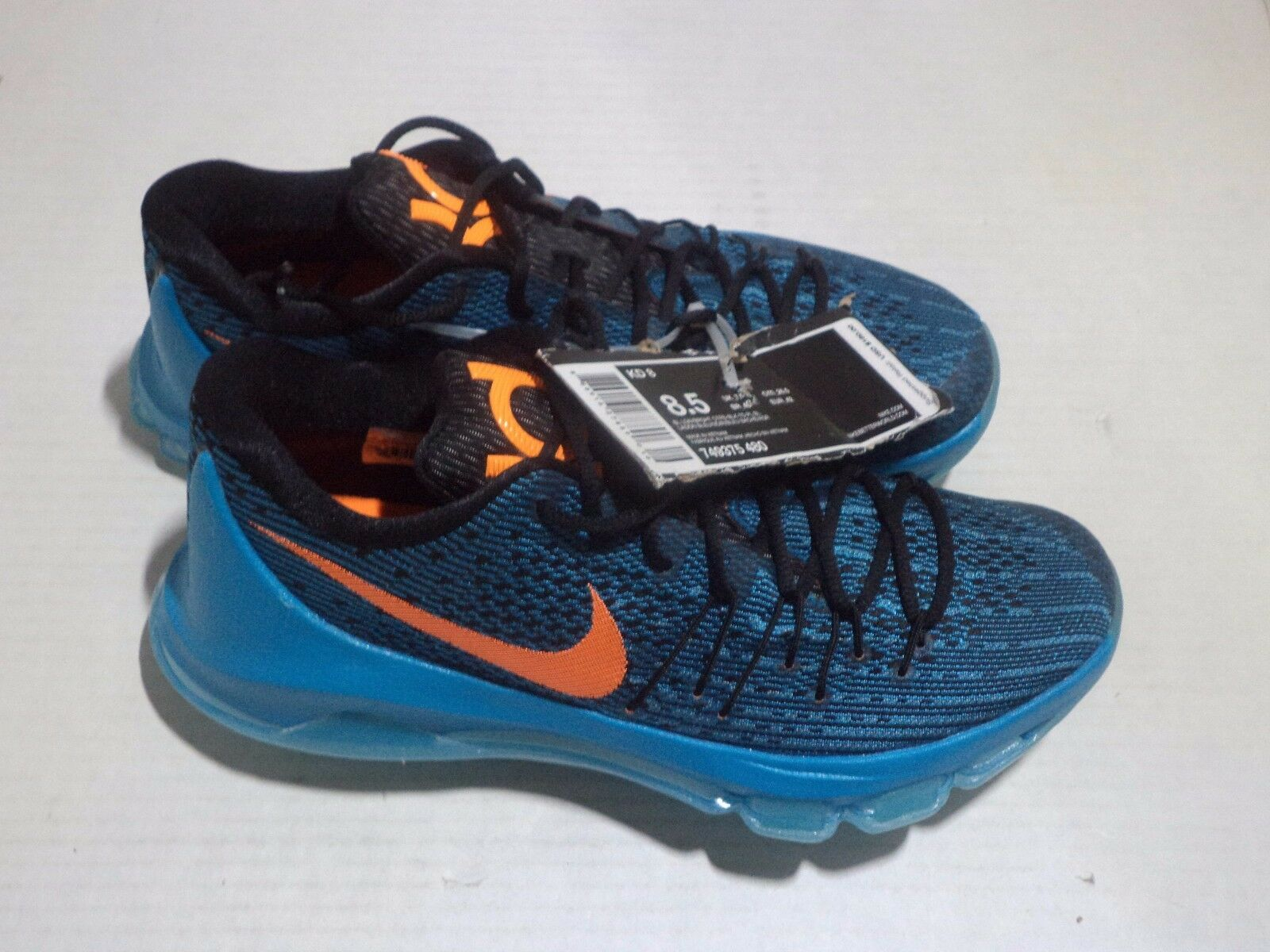 KD 8 Lightweight Flexible Support Color Size 8.5 Color BLUE LAGOON & BLACK/TIDE