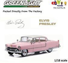 "1955 PINK CADILLAC FLEETWOOD SERIES 60 ""ELVIS PRESLEY"" 1:18 GREENLIGHT 12950"