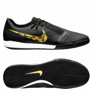Details about Nike Phantom VNM Venom Academy IC Indoor 2019 Soccer Shoes Black Gold