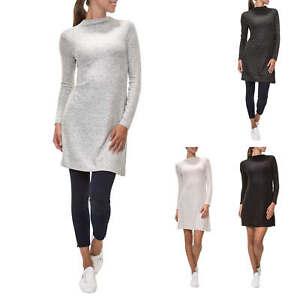 NEU-Only-Damen-Strickkleid-Kleid-Freizeitkleid-Longshirt-Longpullover-Pullover