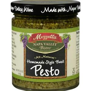 Mezzetta Basil Pesto Sauce Pack Of 6 6 25 Oz Jars 73214009527 Ebay