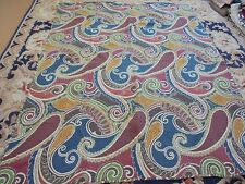 Nice Multi-Color Paisley Pattern Quilt