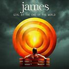 Girl at the End of the World by James (CD, Mar-2016, BMG)