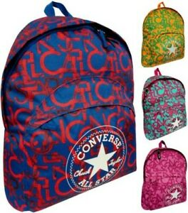Backpack CONVERSE All Star Scrambled Man Woman Backpack Men Women Logo all Over