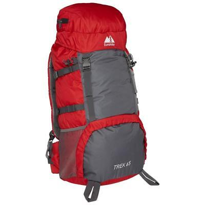 New Eurohike Trek 65L Backpack Camping Rucksacks