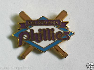 b1 QualitäT In Philadelphia Phillies Baseball Diamant & Baseball Schläger Pin-flagge Ausgezeichnete