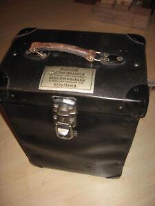 Antiker-Koffer-1930-Jahre-aus-Vulkanfieber-Rohrplatte-von-Siemens-Old-decora