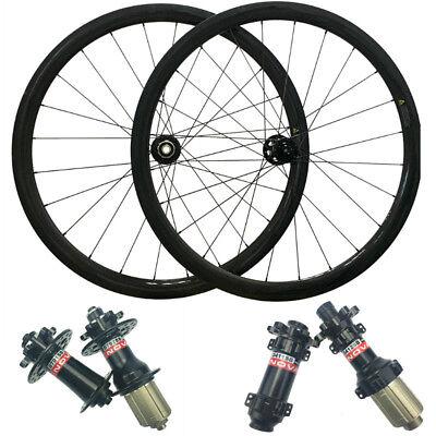 Novatec Disc Hub Cyclocross Bike Wheel 38mm Carbon Clincher Wheelset Disc Brake