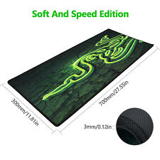 Razer Goliathus Speed Extended Gaming Mouse Mat Pad Green/Back 700*300*3MM XL