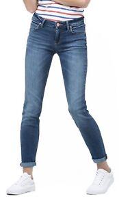 LEE Scarlett Ladies Stretch Jeans Women Skinny Leg Vintage Midtown Blues Denim