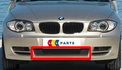 BMW SERIE 1 NUOVO ORIGINALE e82 e88 07-11 PARAURTI ANTERIORE CENTRALE GRILL 7178710