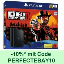 SONY PS4 Pro 1TB CUH-7216B + Red Dead Redemption 2 + Controller