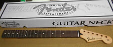 NEW GENUINE FENDER STRATOCASTER ROSEWOOD GUITAR NECK STRAT MEDIUM JUMBO FRETS