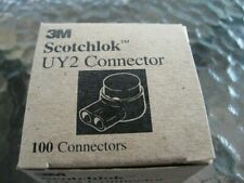 100pcs Original 3m Scotchlok Connector Uy2 Grease Filling Butt Wire