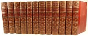 1842-Sir-Walter-Scott-Waverley-Novels-Abbotsford-Edition-1000s-of-illustrations