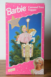 Barbie-Carousel-Tree-Topper-almost-mint-condition