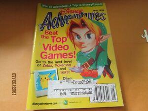 Disney Adventures V9#6 5'99 Magazine Kids book Pokemon Zelda Video games ect
