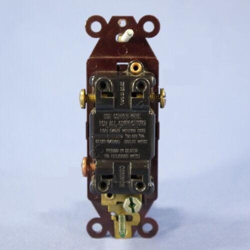 Eagle Brown Decorator Rocker Wall Light Switch 6303B 15A