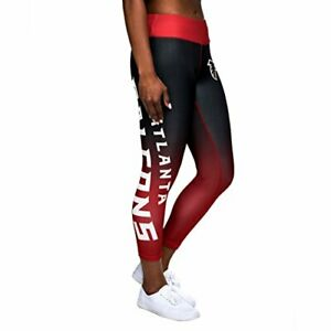 Competent Forever Collectibles Nfl Women's Atlanta Falcons Gradient 2.0 Wordmark Leggings Women's Clothing Fan Apparel & Souvenirs