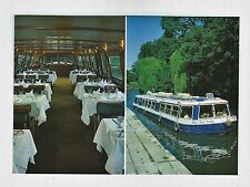 My Fair Lady Restaurant Cruise Boat on London Regents Canal Postcard