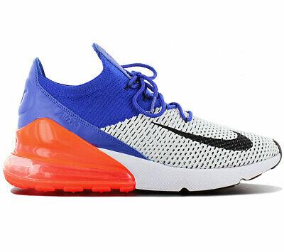 Nike Air Max 270 Flyknit Ultramarine AO1023 101 Herren Sneaker Schuhe NEU | eBay