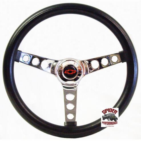 "1957 Bel Air 210 150 steering wheel BOWTIE 13 1//2/"" CLASSIC CHROME"