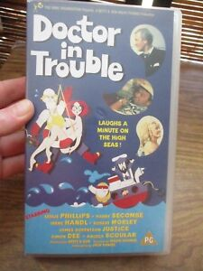 Doctor in Trouble VHS Video Tape NEW - London, United Kingdom - Doctor in Trouble VHS Video Tape NEW - London, United Kingdom